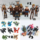 How to Train Your Dragon PVC Action Figures Toys Set