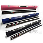Black Full Length 2-Piece Pool Snooker Billiard Cue With Black Pink Blue Case $94.99 AUD on eBay