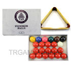 Snooker Balls & Wooden Triangle Rack Set - 2 Inch & 2-1/16 Inch Available AU $55.99 AUD on eBay
