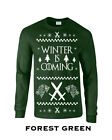 360 Winter is Coming Long Sleeve new stark funny thrones ugly christmas sweater