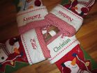 POTTERY BARN KIDS SNOWMAN CHRISTMAS STOCKING Various Names