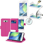 Cases for Samsung Galaxy A5 SM-A500F Phone Briefcase + Safety Glass Foil for sale  Shipping to Canada