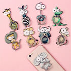 Cartoon Ring Stand Acrylic Animals Elephant Lions Holder Universal Phone Stand
