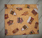 Log Cabins Church Tossed Allover Microwave Baked Potato Corn Bag 91/2