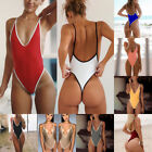Women One Piece Swimsuit Swimwear Bathing Monokini Push Up Padded Bra Bikini Hot