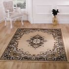 Classic and Timeless Durable Beige Lancaster Rug in 7 Sizes