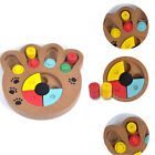 IK- Food Treated Wooden Educational Bone Puzzle Interactive Toy Dog Cat Pet Peac