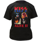 Kiss Band ALIVE II Tshirt New Men's T-Shirt Tee Size S to 3XL