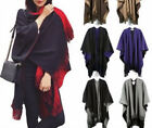 Women Charm Warm Cape Fringe Tassel Blanket Wrap Boutique Knitted Shawl Cloak