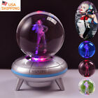 Harley Quinn Suicide Squad Crysta Ball 3D LED Night Light Table Desk Lamp Gift