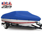 14-22ft Heavy Duty Trailerable Waterproof Boat Cover Fishing Ski Bass Beam