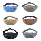 IK- Three Zipper Pockets Fanny Pack Thorax ' Waist Bag with Cell Phone Pouch Exquis