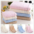 IK- Cotton Stripe Grid Towels Large Bath Sheet Bath Towel Ha