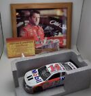 TONY STEWART AUTO/SIGNED LOT PHOTO AND 1/24 DIECAST 2016 #14 MOBIL 1 NASCAR COA