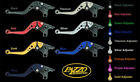 HONDA 2002-2003 CBR 954RR PAZZO RACING ADJUSTABLE LEVERS -  ALL COLORS / LENGTHS