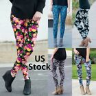 Womens Leggings One Size Os Buttery Soft Holiday Christmas Floral Paisley