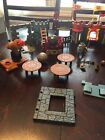 Retired Imaginext Castle LOT Fischer Price figure Accessories cannons HTF