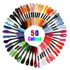 4 Size DIY Embroidery Stitching Punch Needle Craft Tool +50 Colors Sewing Thread