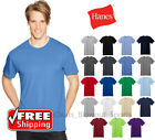 Hanes 4980 Mens Nano T-Shirt Light Weight Ringspun Cotton Comfort Soft Solid Tee