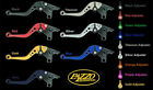 KAWASAKI 2006-2015 ZX10R PAZZO RACING ADJUSTABLE LEVERS -  ALL COLORS / LENGTHS