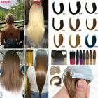 Seamless Glue Tape In Skin Weft Pu blonde Remy Human Hair Extensions 16-26Inch