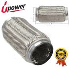 """3"""" x 8"""" Exhaust Flex Pipe Double Braid Flex Joint Repair Coupling Tube Weld On"""