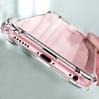 For Apple iPhone X/8/7/11 Ultra Thin Transparent Clear Shockproof Bumper Case