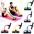 ES_ Fitness Elastic Sit Up Pull Rope Abdominal Exerciser Equipment Sport New Hot image