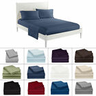 Solid All Colors & Sizes Bed Sheet Sets 1000 Thread Count Egyptian Cotton image