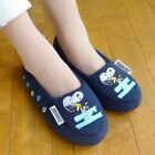 PEANUTS SNOOPY Slippers Slipper Travel Room Shoes Pouch set from Japan H1296
