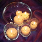 """1.6""""  Vot/Floating Candles 15 Pack   Colors 01-18  10 Hr   UNSCENTED This n That"""