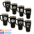 BASKETBALL CLUB EXECUTIVE TRAVEL CUP MUG NBA TEAM BLACK COVER COFFEE TEA NEW on eBay