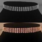 Gold/Silver classic 4 Row Choker/Necklace,bride,bridesmaid,prom,party SV16-SM04
