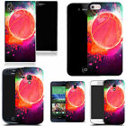 pictoral case cover for most Popular Mobile phones - splattered basketball