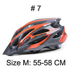 Bike Helmet Unisex Back Light Mountain Road Molded Cycling Ultralight Googles