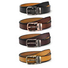 XHTang Men's Fashion Pin Buckle Belt Genuine Leather Waistband Strap Jeans Gift