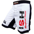 New MMA Kick Boxing Training shorts Grappling Muay Tahi Fight Wear Cage Men's