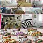 Fabulous 100% Egyptian Cotton Printed Duvet Cover Sets Bedding Sets All Sizes image