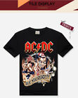 Men's ACDC Rock Awesome Looking heavy metal t shirt
