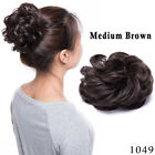 Synthetic Curly Hair Extensions Hairpiece Bun Updo Scrunchie Pony Tail As Human