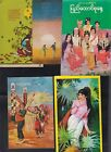 5 MYANMAR DIFFERENT POST CARDS,  USED