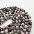 Crafts - Natural Eudialyte Smooth Round Gemstone Loose Beads Size 8/10/12mm 15.5'' Long