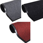 Door Mat PVC Floor Carpet Non-Slip Hall Entrance Rug Black/Red/Gray 5 Sizes <br/> vidaXL top quality, Blowout prices, Fast shipping!