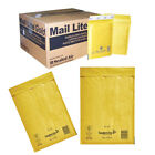 PADDED BUBBLE BAGS ENVELOPES GOLD POSTAL STRONG AND CHEAP MAIL BAGS - MAIL LITE