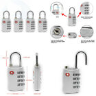 Newtion Tsa Approved Luggage Lock4 Digit Combination TSA  for Suitcase Travel Ba