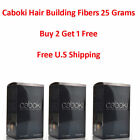 Caboki Hair Building Fibers 4 Colors Hair Loss Concealer 25g U.S Seller..