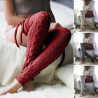 Women's Knit Over The Knee Cotton Socks Stockings Warm Long Tights Thigh Socks