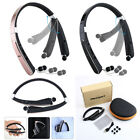 Foldable Bluetooth headset Wireless Headphones Mic Neckband Design for iPhone