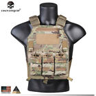 EMERSON Tactical Vest Plate Carrier Body Armor Molle 419 Pai