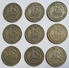 1920 - 1936 KING GEORGE V SILVER ENGLISH ONE SHILLING COINS - CHOOSE YOUR YEAR!